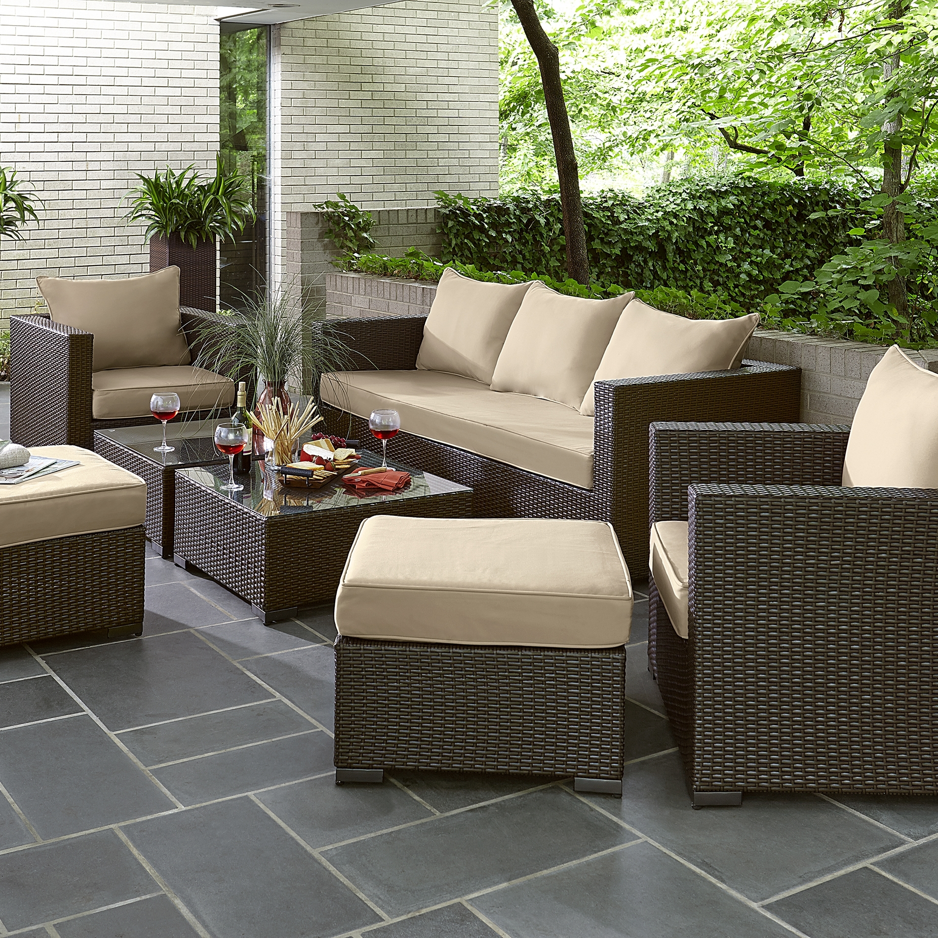 Recent Sears Outdoor Furniture Cushions – Outdoor Designs With Patio Conversation Sets At Sears (View 13 of 15)