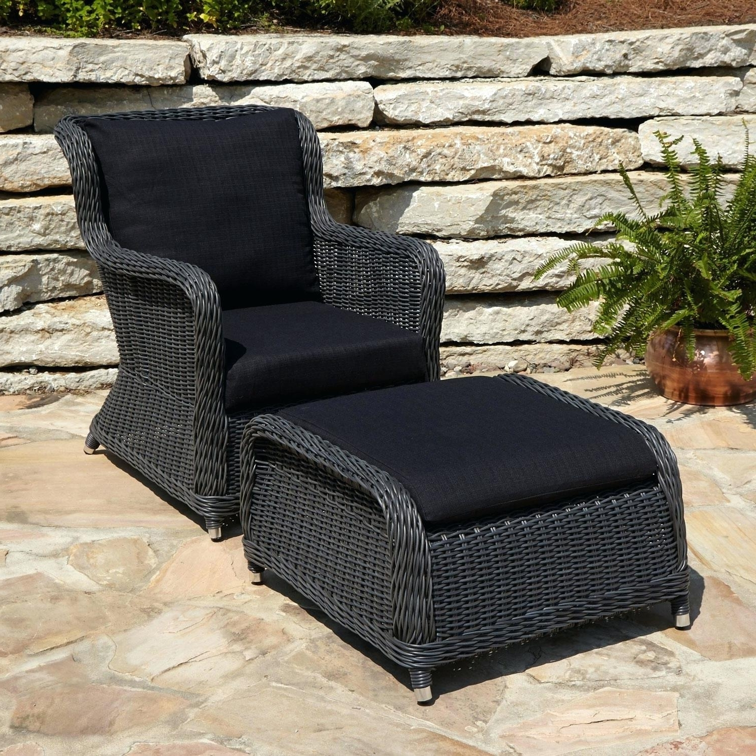 Resin Patio Furniture Sets Chair Pier One Wicker Conversation Blue In Well Known Pier One Patio Conversation Sets (View 15 of 15)