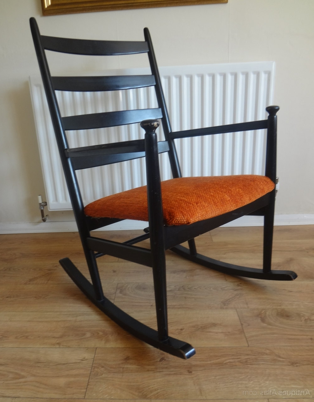 Retro Outdoor Rocking Chairs Throughout Most Current Antiques Atlas – Retro Danish Rocking Chair (View 11 of 15)