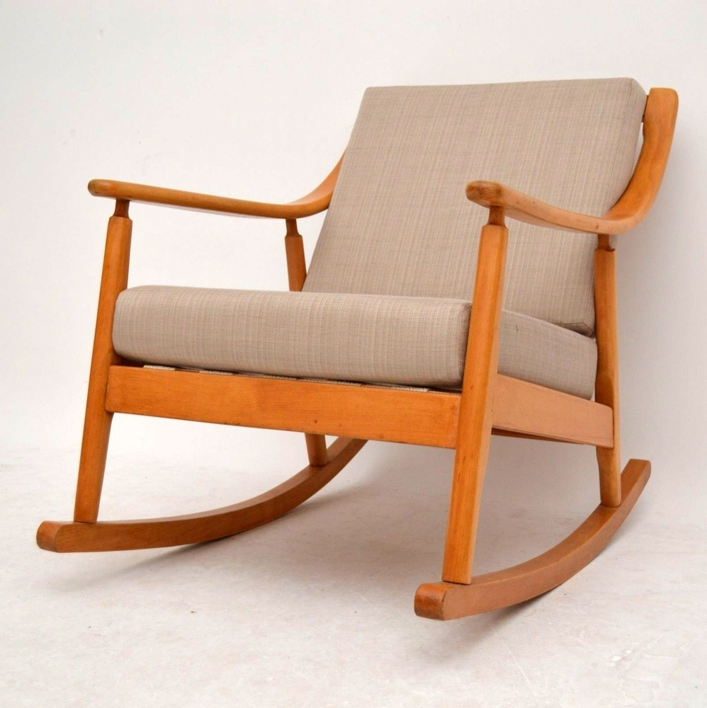 Retro Rocker Arm Chair – Chair Design Ideas Regarding Most Up To Date Retro Rocking Chairs (View 8 of 15)