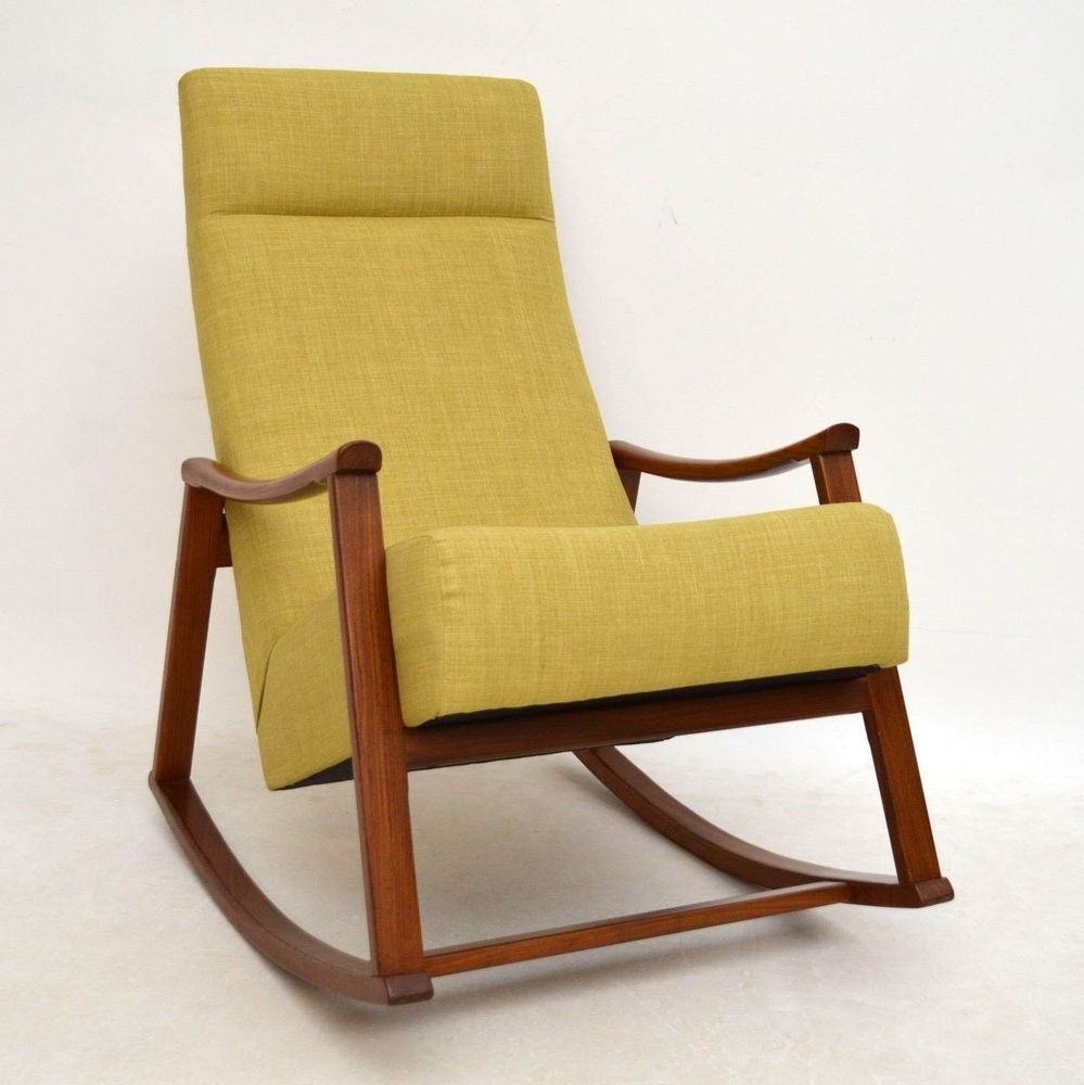 Rocking Armchair Leigh Country Amberlog Patio Chair Armchairs Uk Nz With Well Known Retro Rocking Chairs (View 7 of 15)