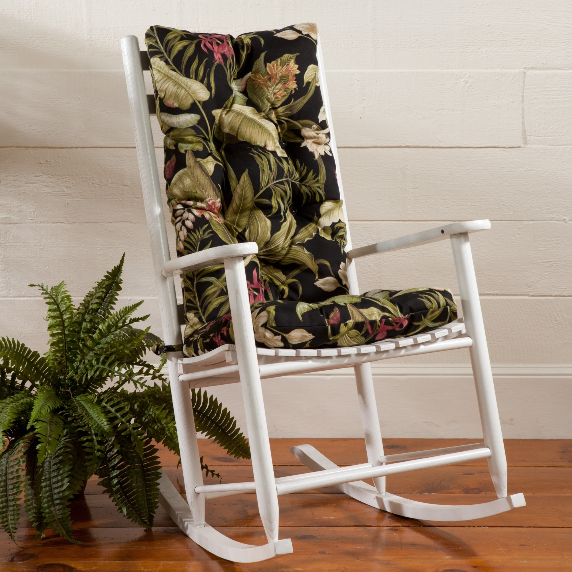 Rocking Chair Cushions For Outdoor Regarding Well Known Probably Terrific Nice Rocking Chair Cushions Outdoor Furniture (View 10 of 15)