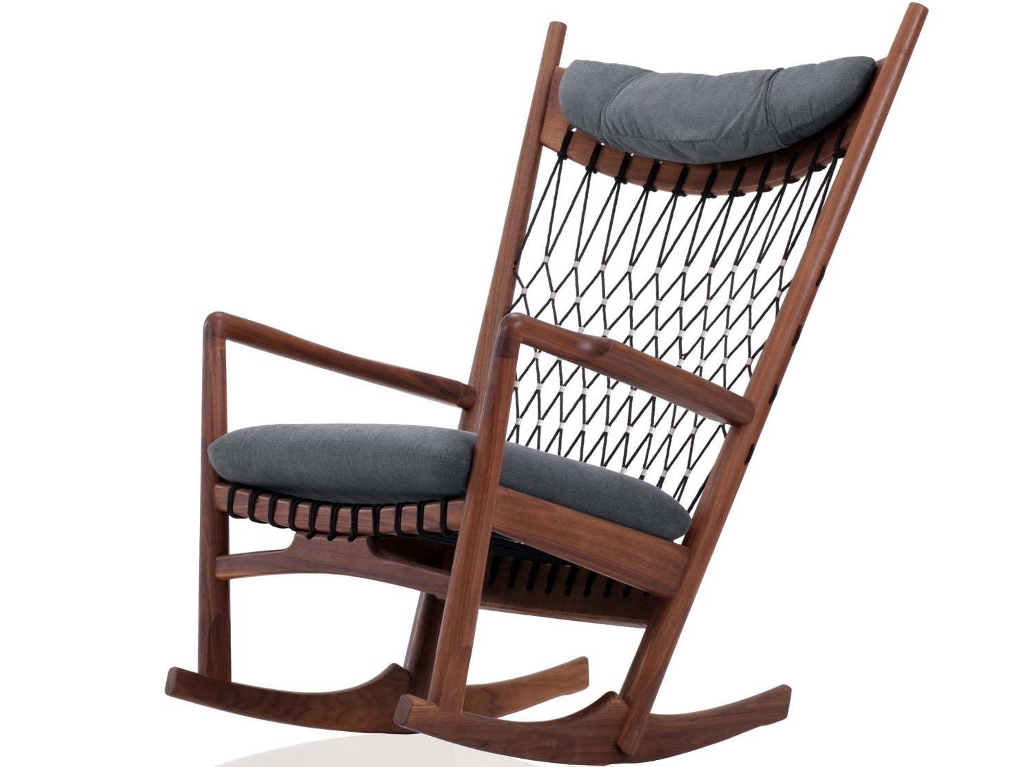 Rocking Chairs Adelaide Intended For Well Known Wegner Net Rocking Chair (Replica) (View 11 of 15)