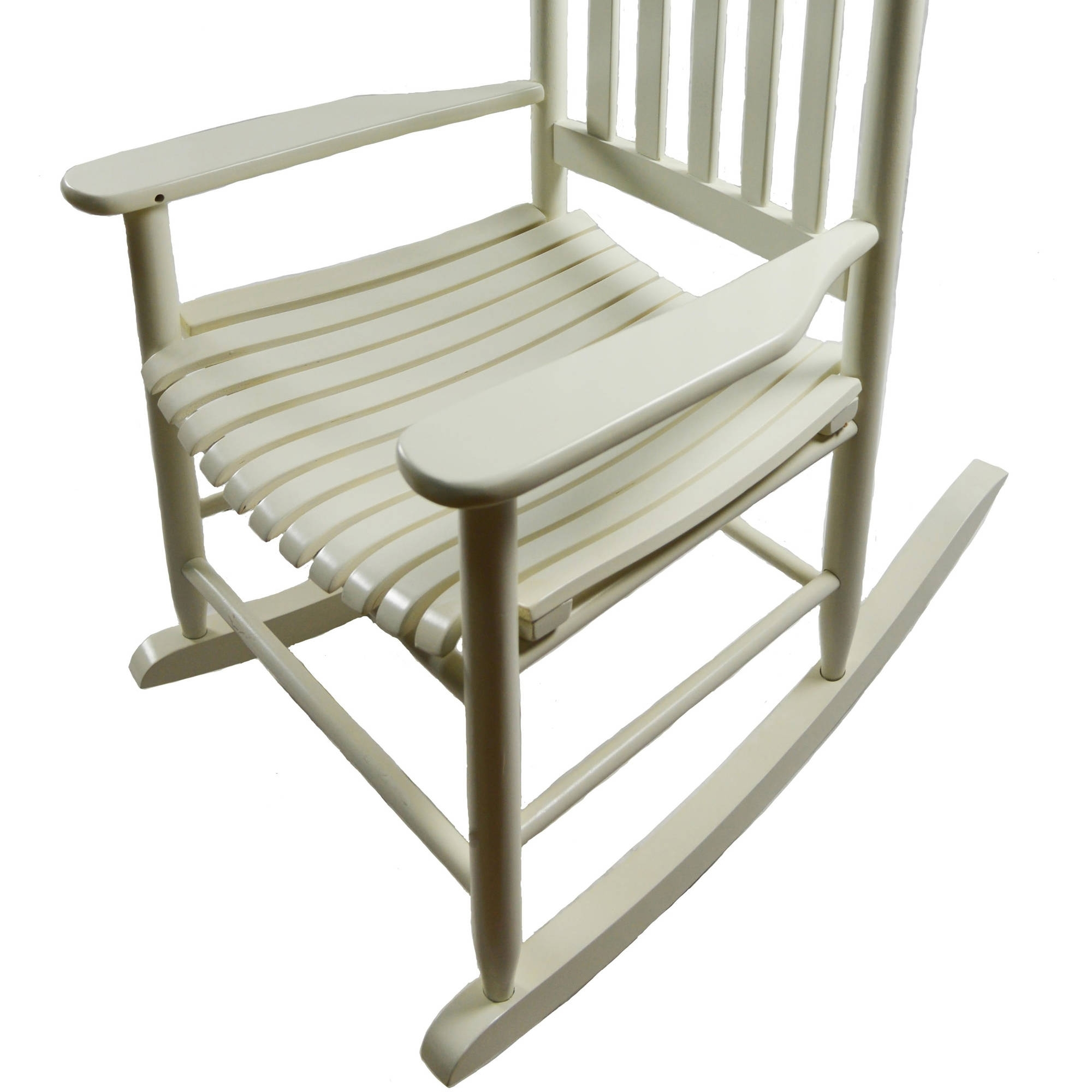 Rocking Chairs At Walmart With Regard To Well Known Mainstays Outdoor Wood Rocking Chair – Walmart (View 12 of 15)