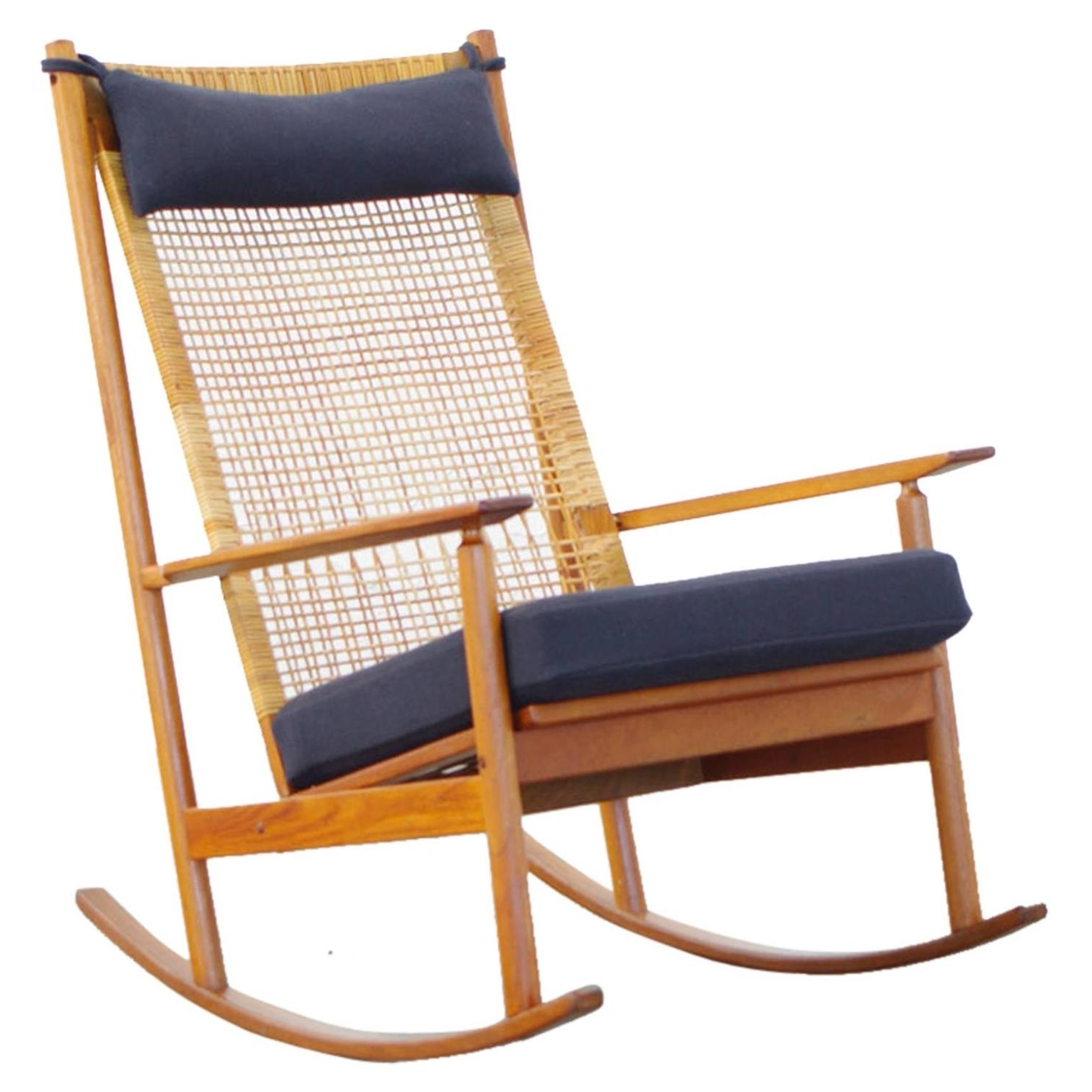 Rocking Chairs At Wayfair Throughout Most Current Ottomans : Rocking Chairs For Nursery Wooden With Cushions Wayfair (View 9 of 15)