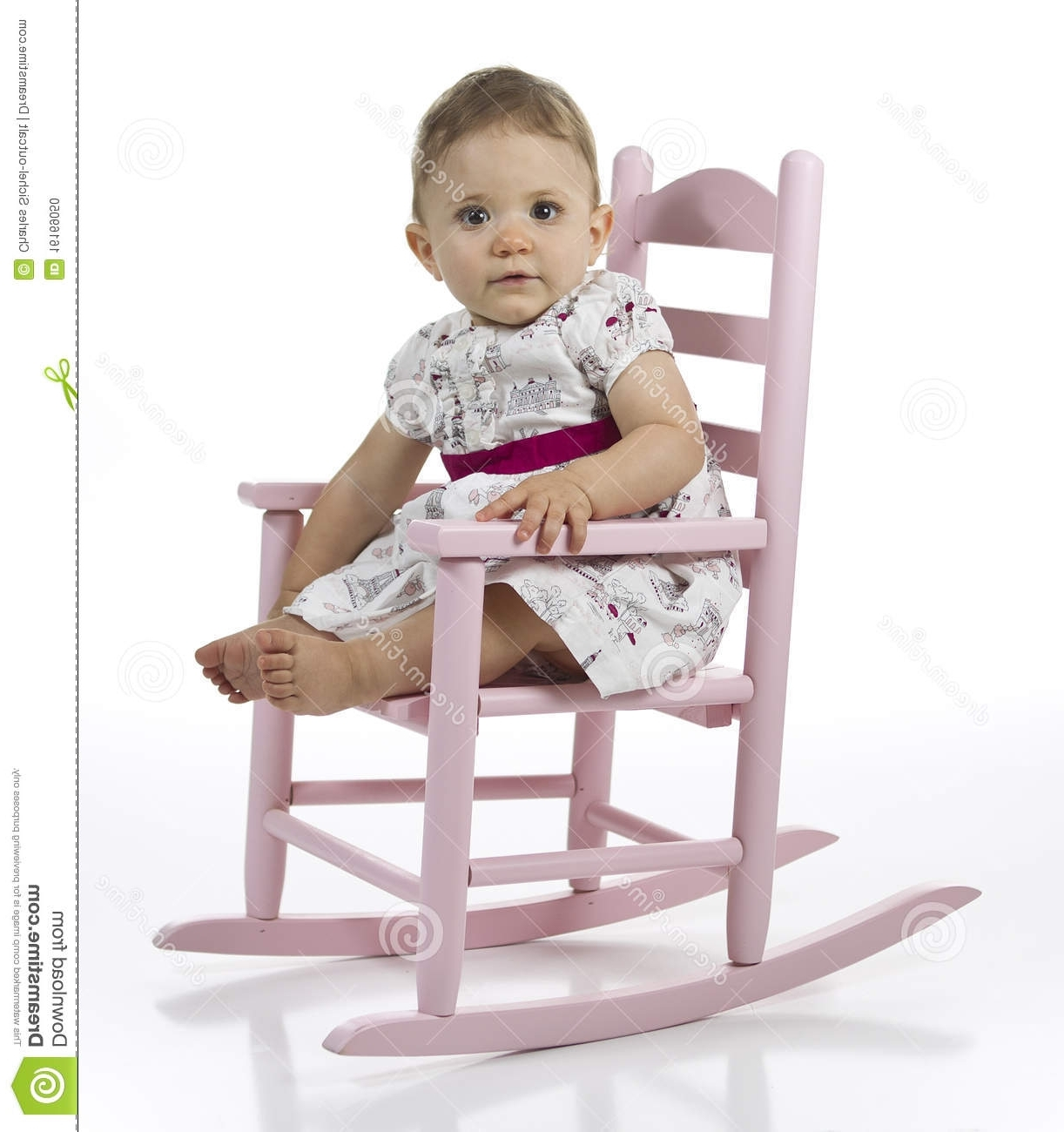 Rocking Chairs For Babies Inside Most Current Wonderful Baby Rocking Chair For Your Outdoor Furniture With (View 11 of 15)