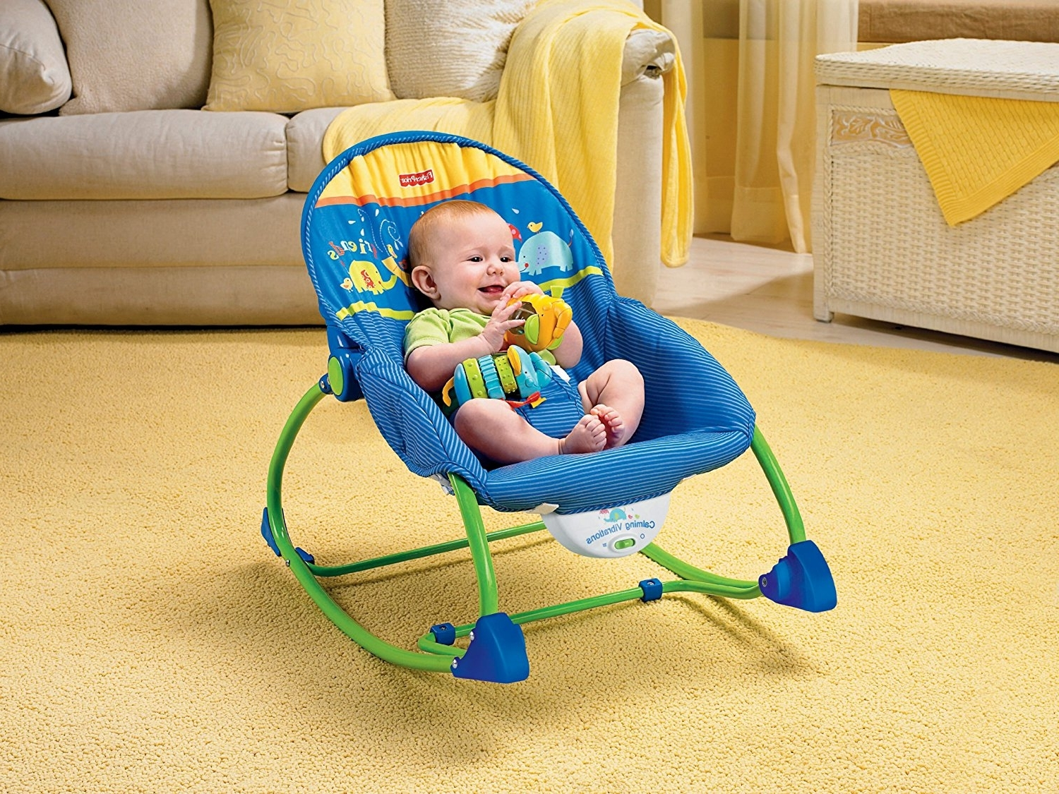 Rocking Chairs For Babies within Preferred Benefits Of Baby Rocking Chair - Bellissimainteriors