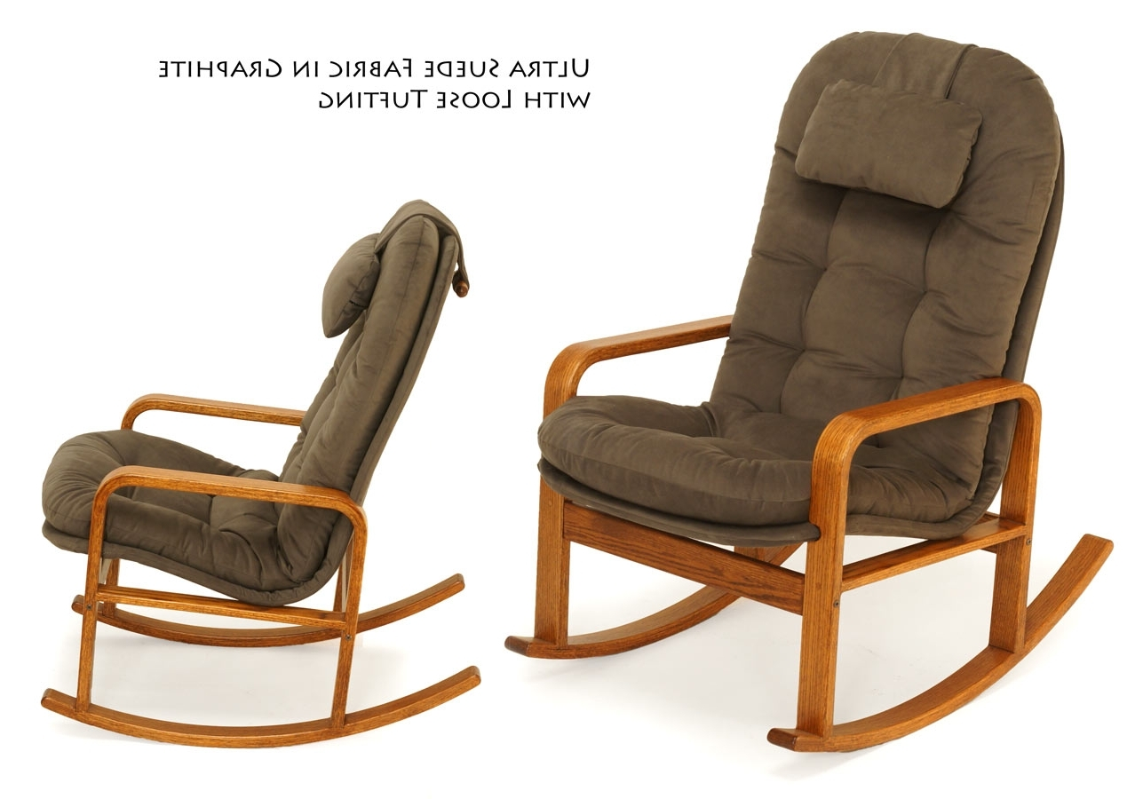 Rocking Chairs For Every Body – Brigger Furniture Inside Widely Used High Back Rocking Chairs (View 4 of 15)