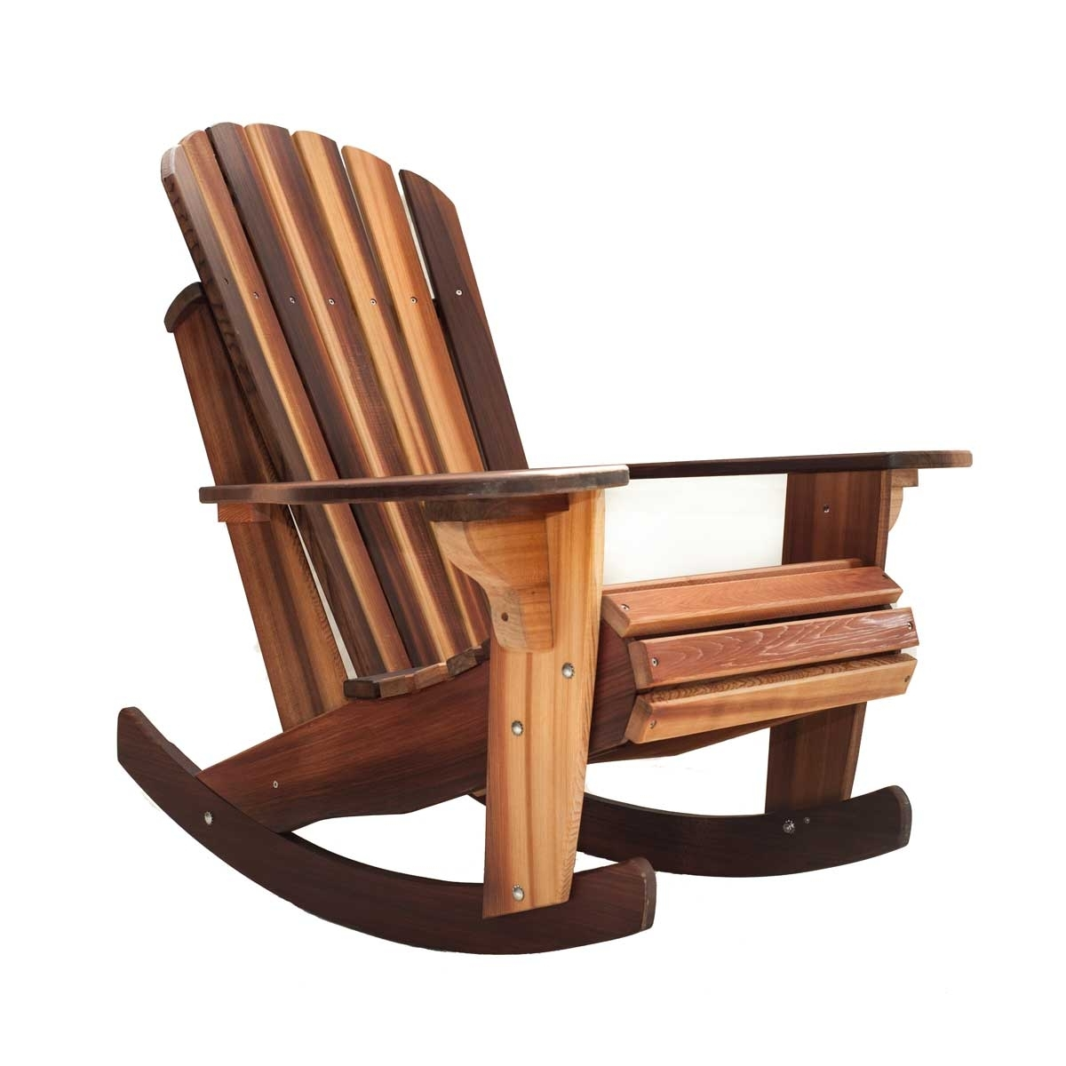 Rocking Chairs For Famous Handcrafted Adirondack Cedar Rocker Chairs & Adirondack Cedar (View 11 of 15)