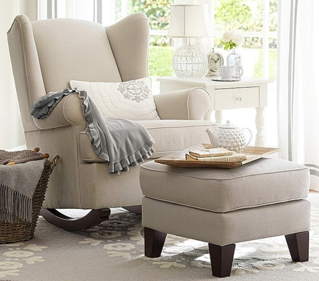 Rocking Chairs For Nursing Inside Trendy Exclusive Inspiration Nursing Rocking Chair – Living Room (View 8 of 15)