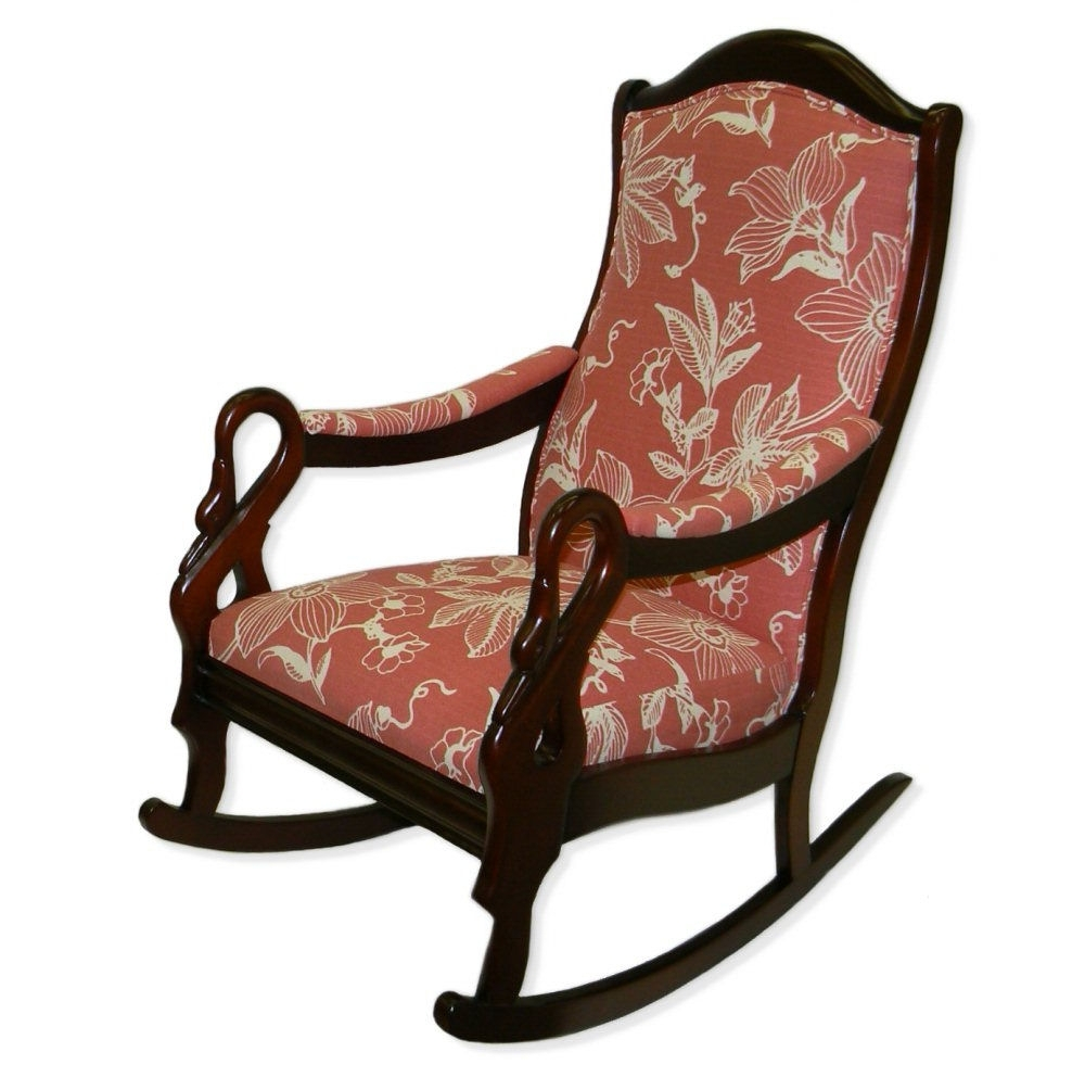 Rocking Chairs With Lumbar Support With Newest Goose Neck Rocker – Twin Rivers Furnishings (View 13 of 15)