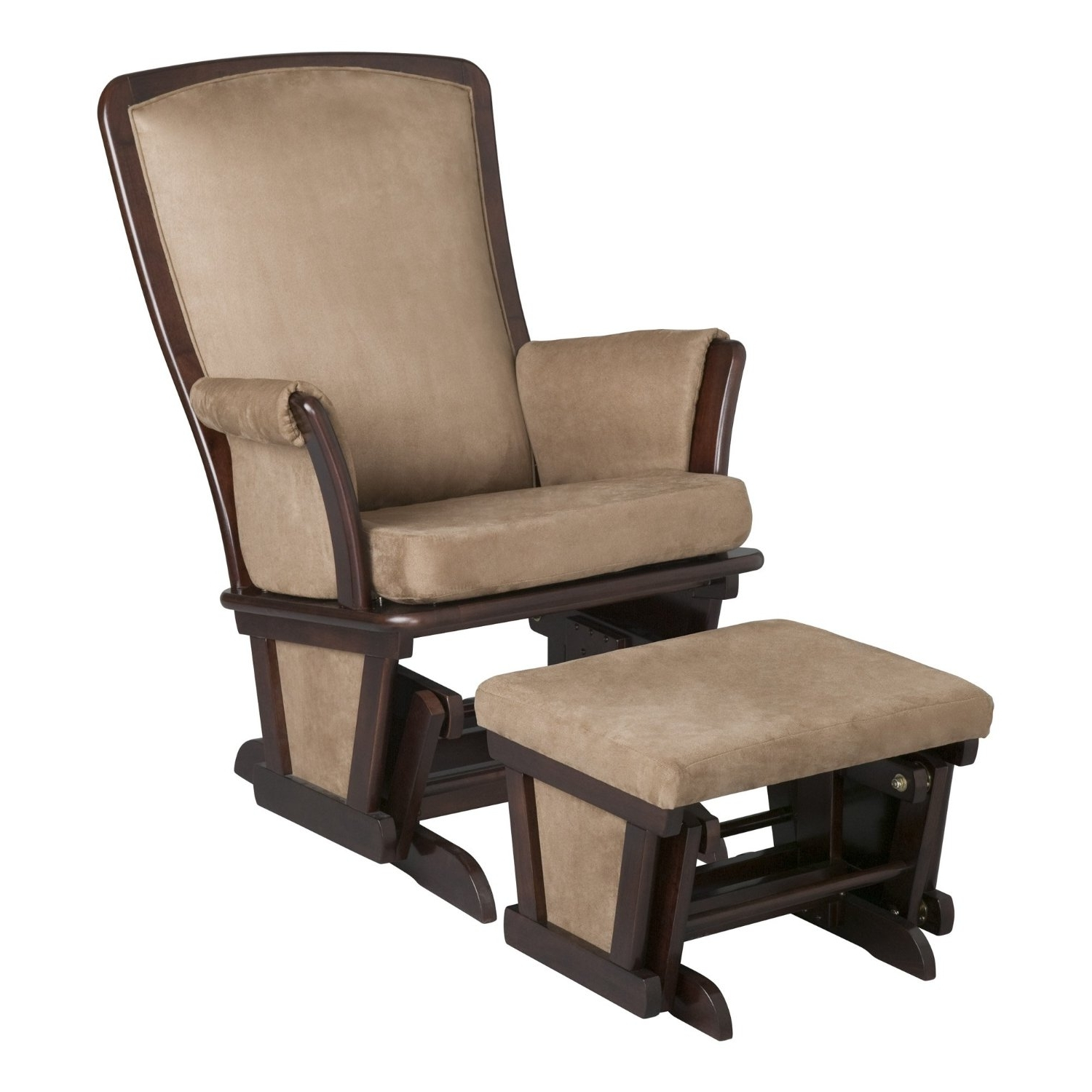 Rocking Chairs With Ottoman With Regard To Most Recent Furniture: Best Rated Nursery Gliders,rocking Chairs Reviews (View 5 of 15)