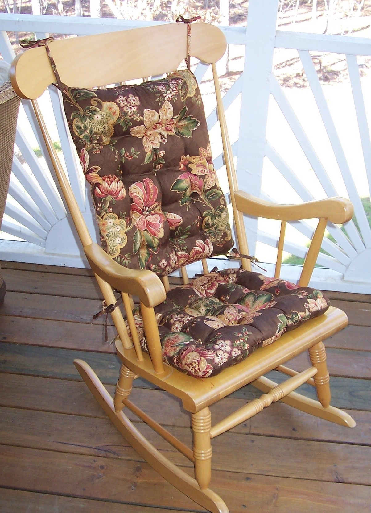 Rockingair Cushion Replacement Wicker Cushions Lillberg Covers Sets Pertaining To Recent Rocking Chairs With Cushions (View 11 of 15)