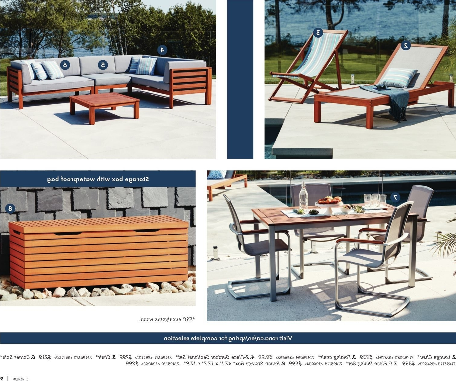 Rona Patio Rocking Chairs Pertaining To Popular Rona Weekly Flyer – Enjoy Your Backyard – Mar 22 – Apr  (View 10 of 15)