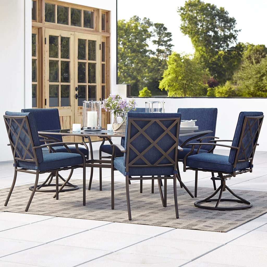 Rona Patio Rocking Chairs With Most Recently Released Outdoor Swivel Dining Chairs Elegant Patio Set With Swivel Chairs (View 11 of 15)