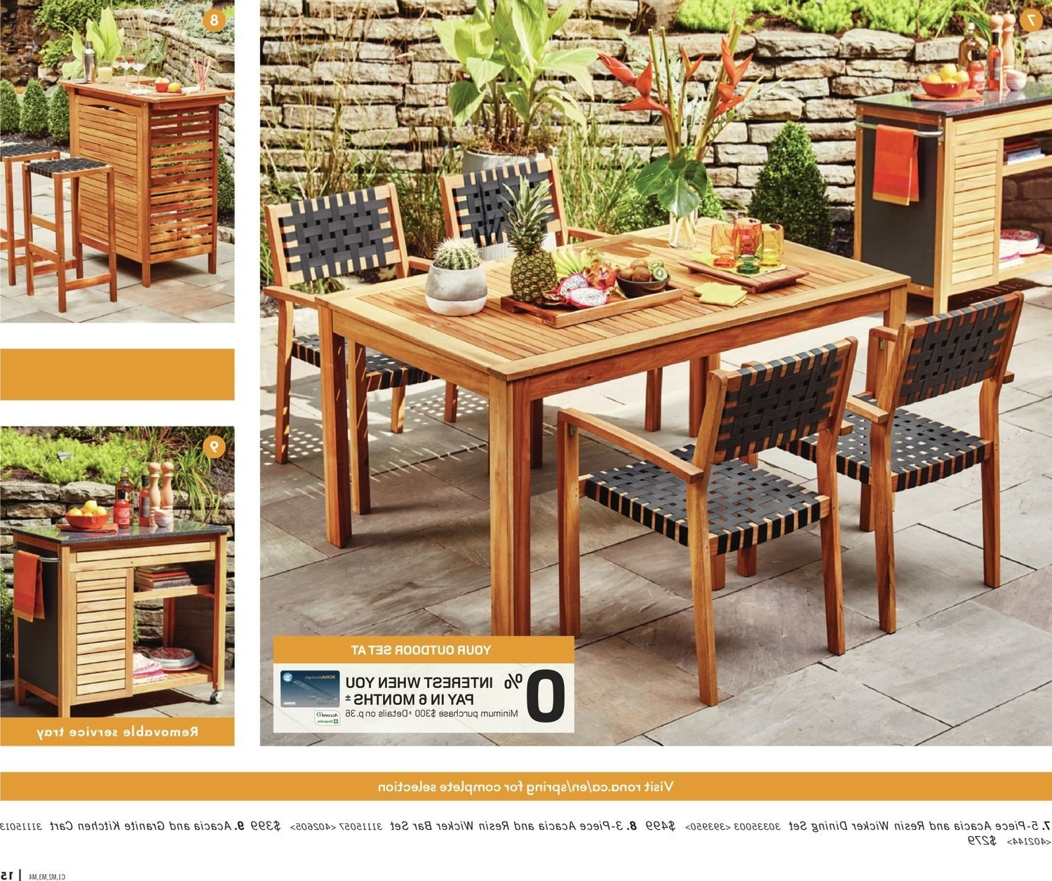 Rona Weekly Flyer – Enjoy Your Backyard – Mar 22 – Apr 25 In Trendy Rona Patio Rocking Chairs (View 5 of 15)