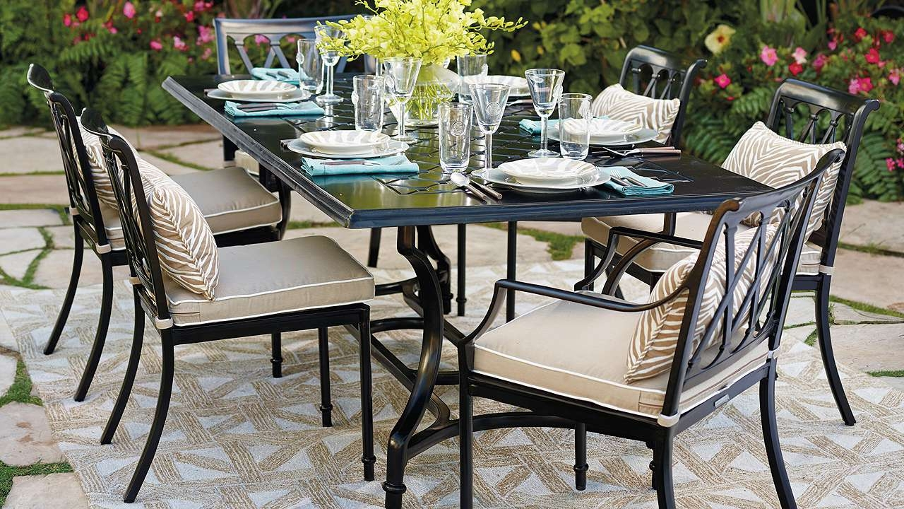 Sciclean Home Design : Luxury Outdoor Within Patio Conversation Dining Sets (View 14 of 15)