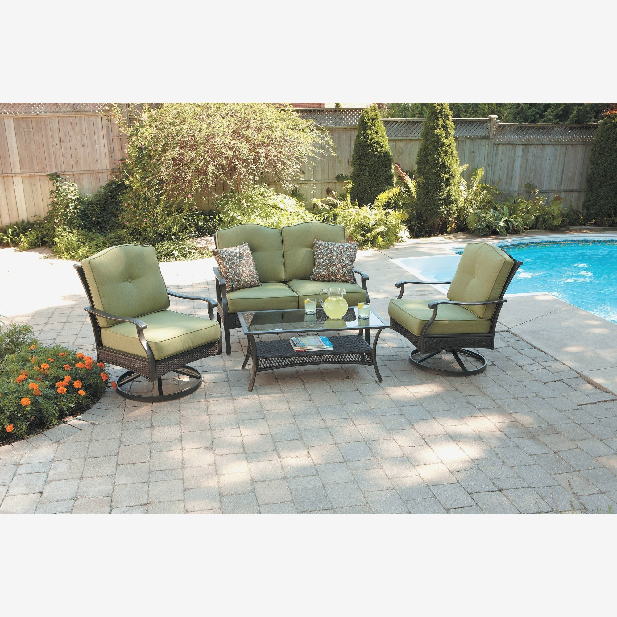 Sears Patio Furniture Conversation Sets Inside Most Popular Sears High Top Patio Furniture Awesome Sears Patio Swing Luxury (View 2 of 15)
