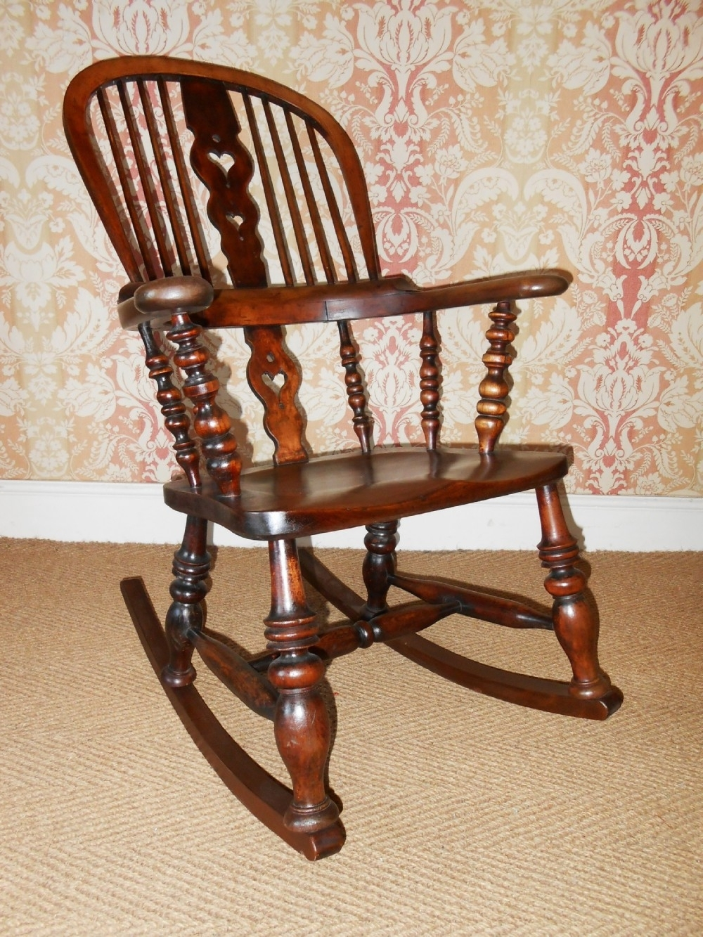 Sellingantiques With Regard To Most Current Victorian Rocking Chairs (View 7 of 15)