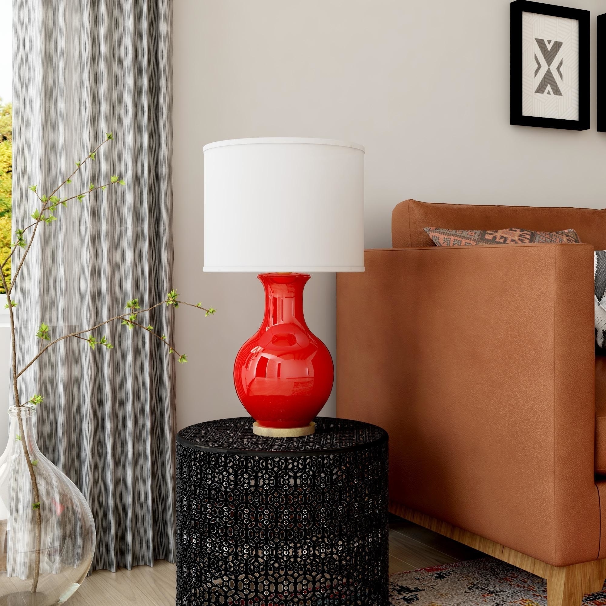 Shop Oliver & James Vija Ceramic Table Lamp – Free Shipping On Within Popular Overstock Living Room Table Lamps (View 11 of 15)