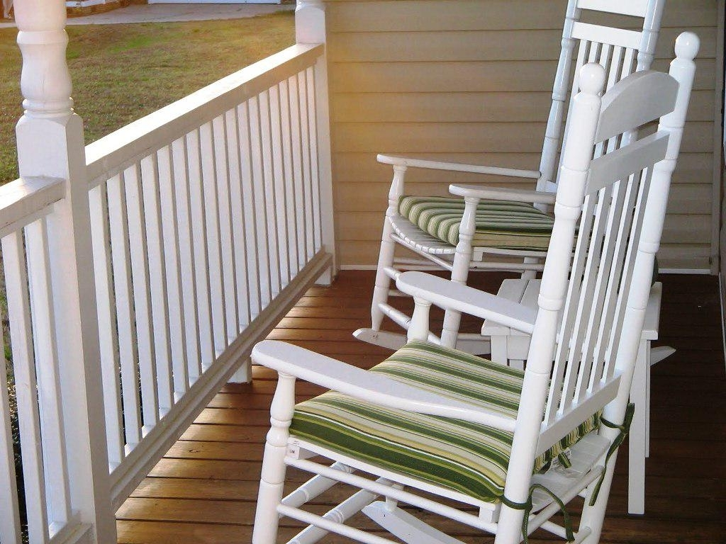 Silo Christmas Tree Farm Throughout Rocking Chair Cushions For Outdoor (View 10 of 15)