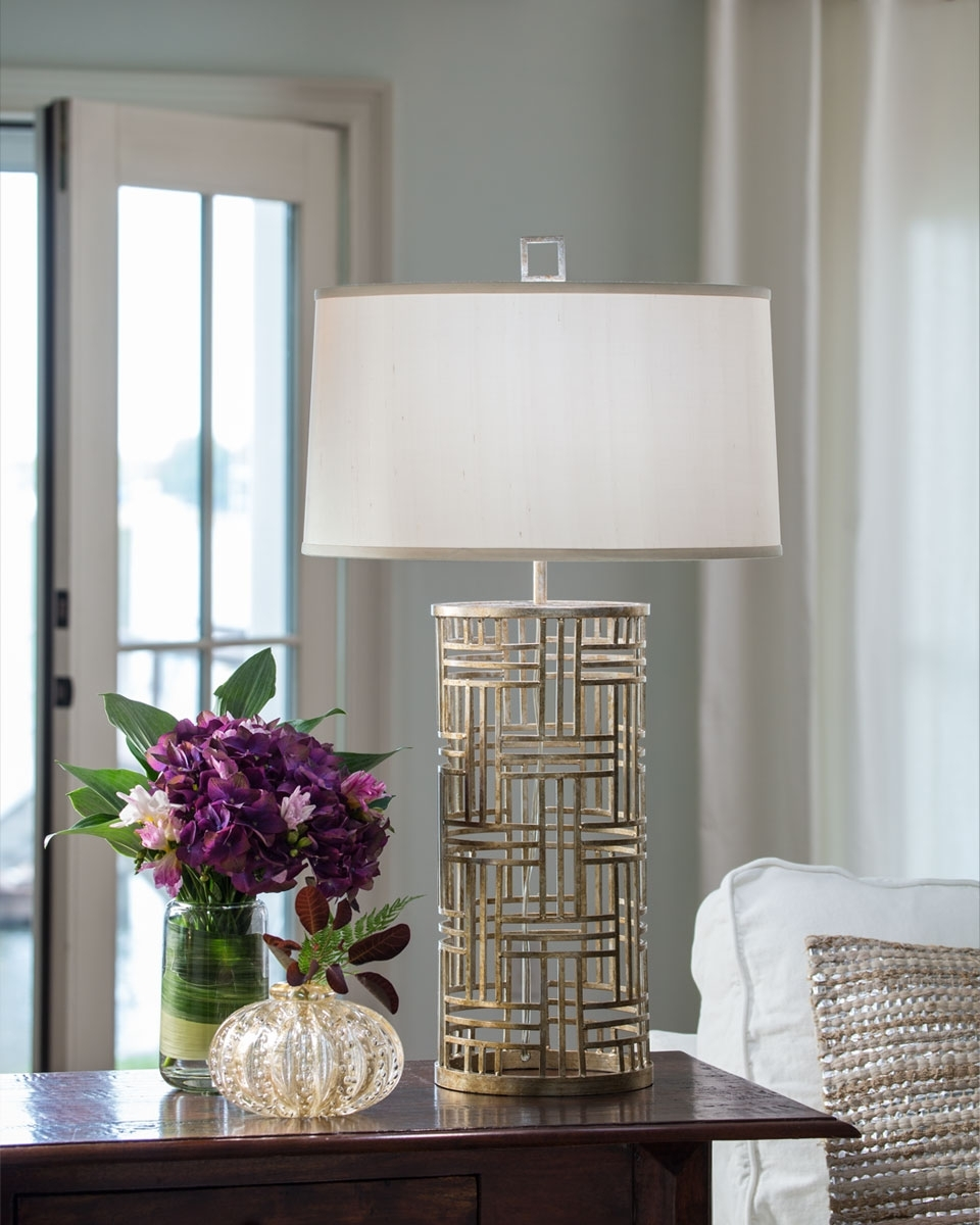 Silver Table Lamps For Living Room In Most Recently Released Table Lamp — S3Cparis Lamps Design : Cozy And Elegant Table Lamps (View 11 of 15)