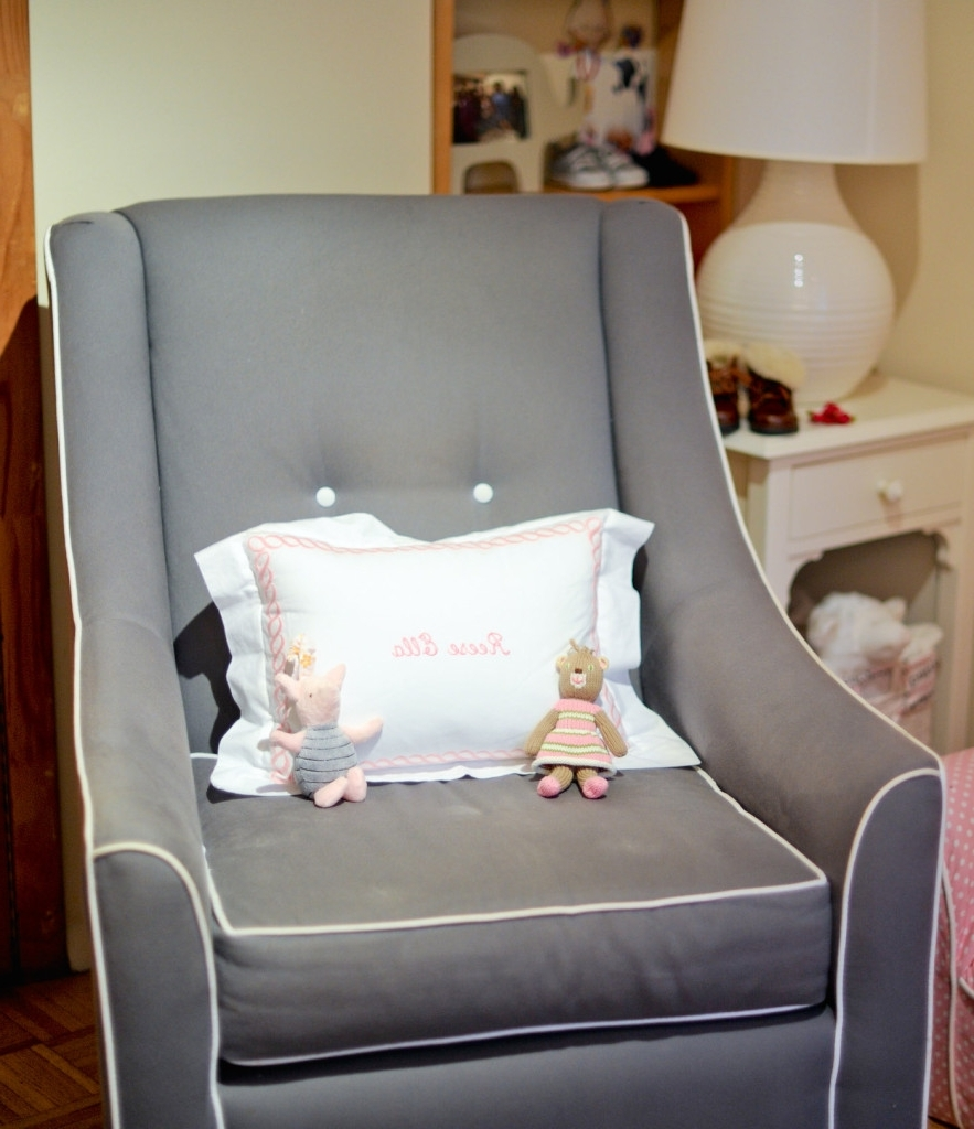 Spectacular Nursery Glider Chairs Furniture J94S About Remodel Most For Well Known Rocking Chairs For Small Spaces (View 12 of 15)