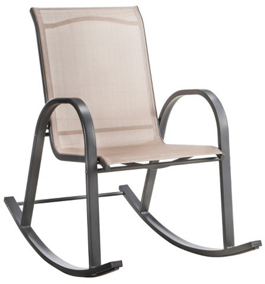 Stackable Patio Rocking Chairs With Most Recent Livingroom : Shop Adams Mfg Corp Stackable Resin Rocking Chair At (View 3 of 15)