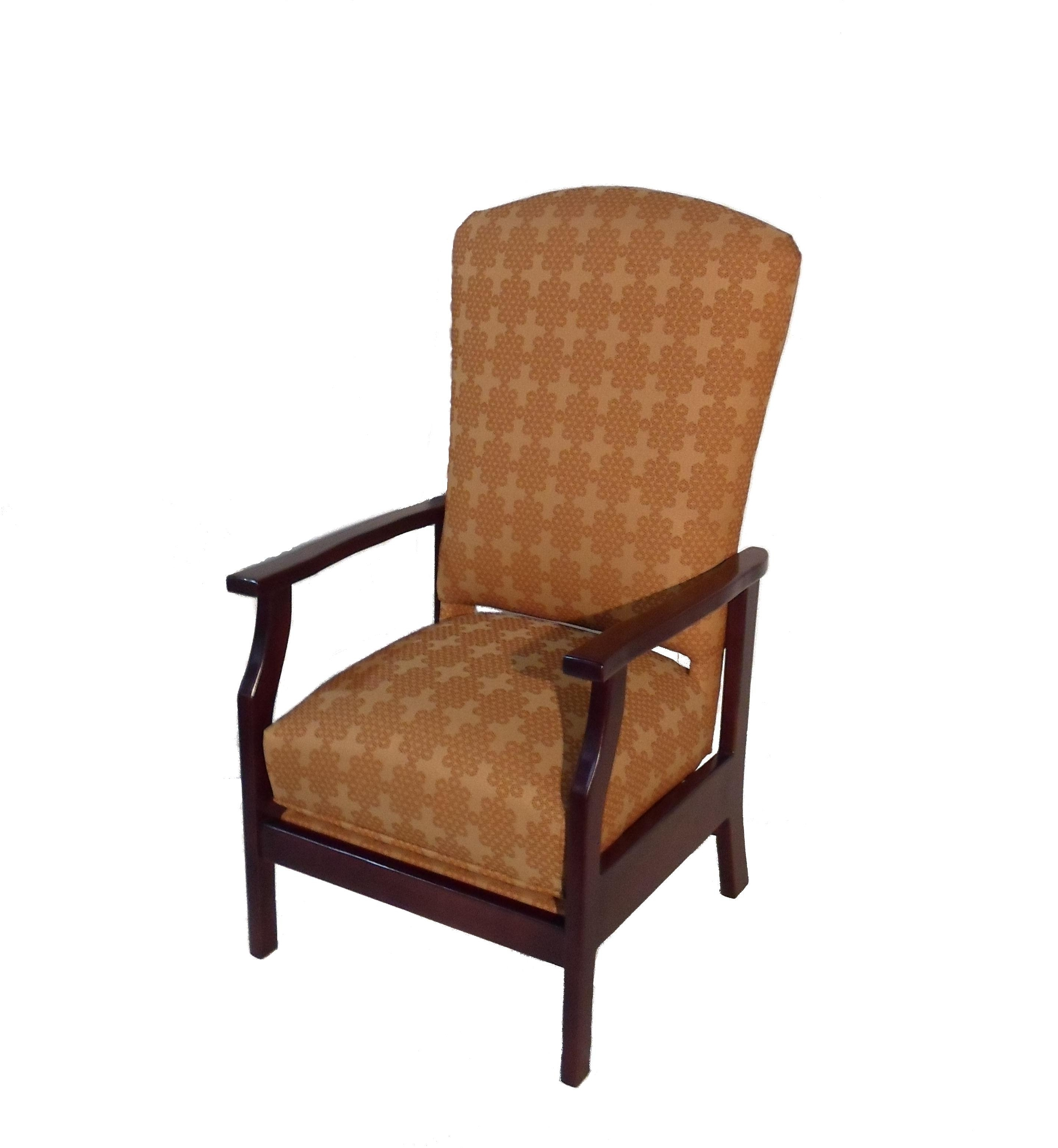 Stationary Rocking Chair With Lumbar Support – Twin Rivers Furnishings Pertaining To Best And Newest Rocking Chairs With Lumbar Support (View 14 of 15)