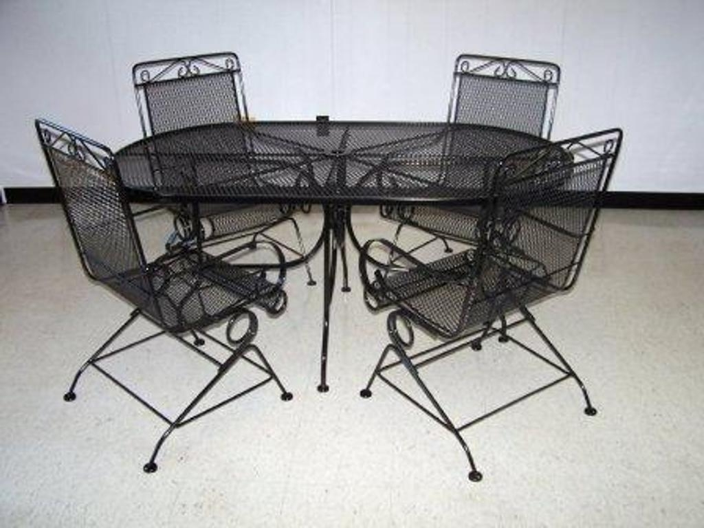 Steel Patio Furniture Sets : Outdoor Waco – Steel Patio Furniture Regarding Fashionable Steel Patio Conversation Sets (View 15 of 15)