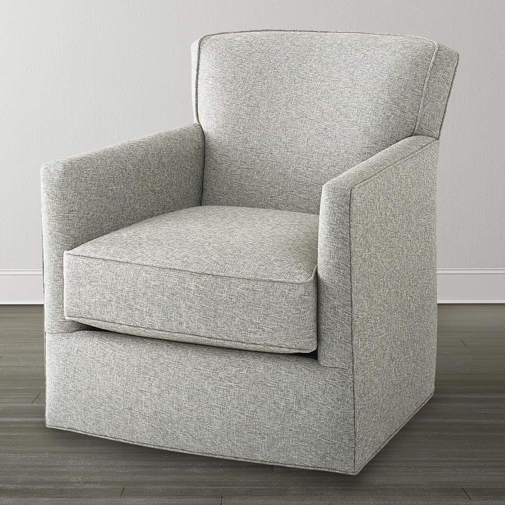 Swivel Rocking Chairs With Fashionable Off White Swivel Glider Chair (View 4 of 15)