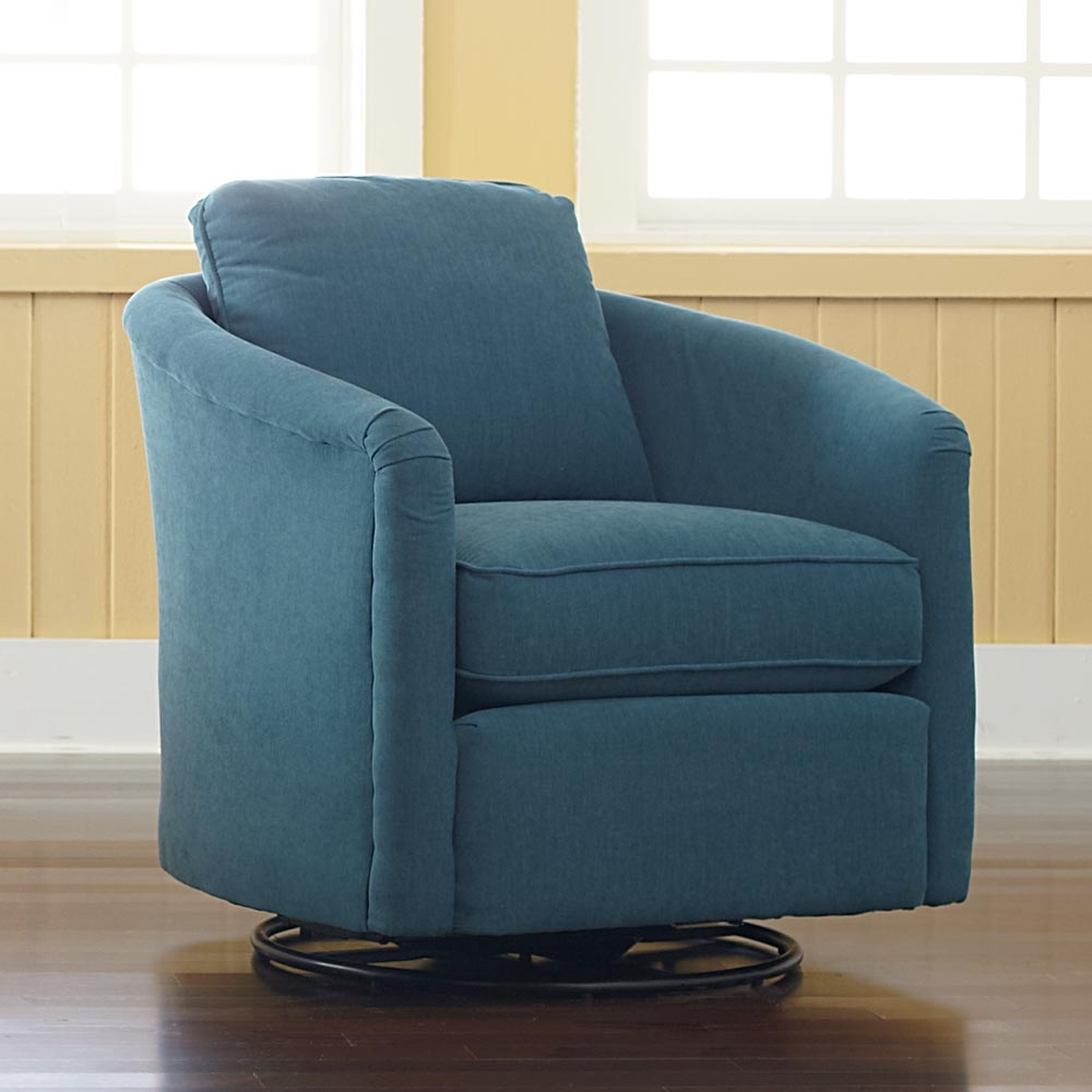 Swivel Rocking Chairs Within Most Recently Released Upholstered Swivel Living Room Chairs Elegant Delightful Design (View 14 of 15)
