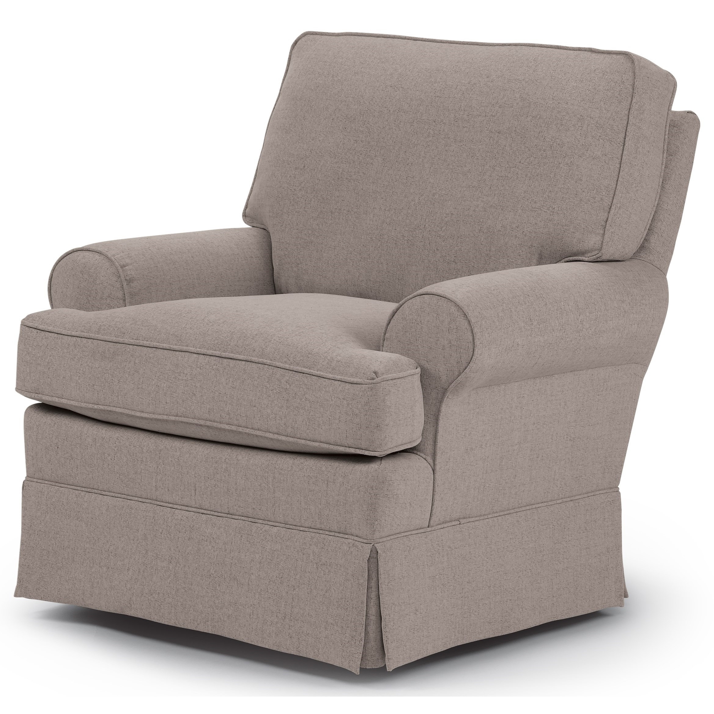 Swivel Rocking Chairs Within Well Liked Best Home Furnishings Swivel Glide Chairs Quinn Swivel Glider Chair (View 3 of 15)