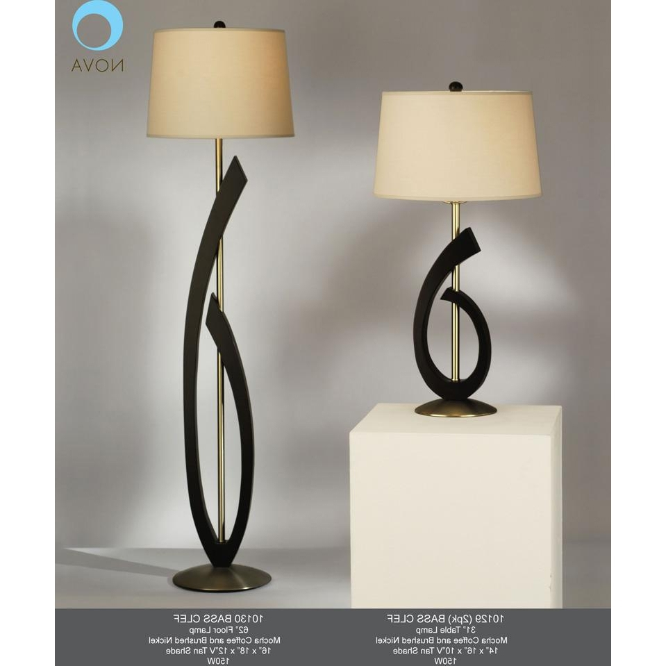 Table Lamps For Traditional Living Room Regarding Latest Bass Clef Table Lamp Home Interior Design Ideashome Most Comfortable (View 14 of 15)