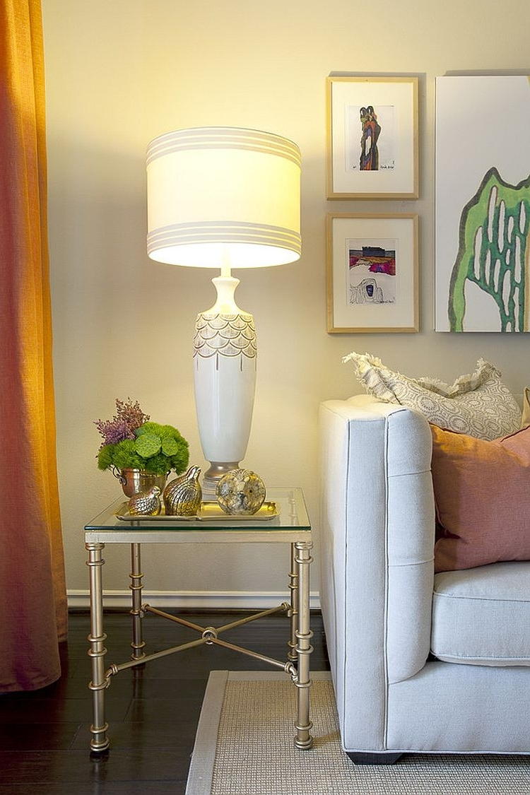 Tall Living Room Table Lamps Inside Latest Livingroom : Table Lamps For Living Room Lamp High End Gold Bedside (View 11 of 15)