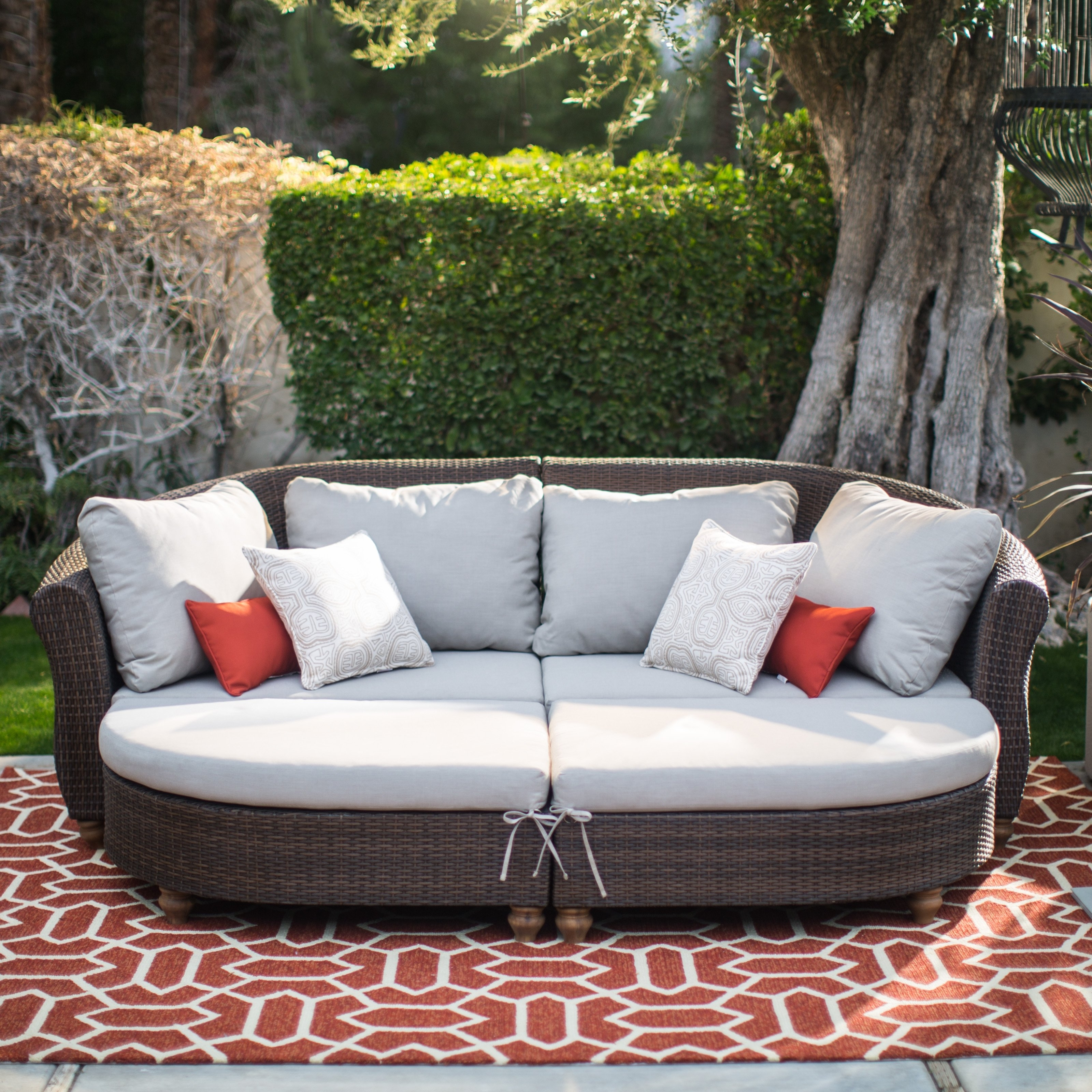 Target Patio Furniture Conversation Sets In Most Recent Chair : Outdoor Wicker Resin Piece Sectional Sofa Patio Furniture (View 10 of 15)