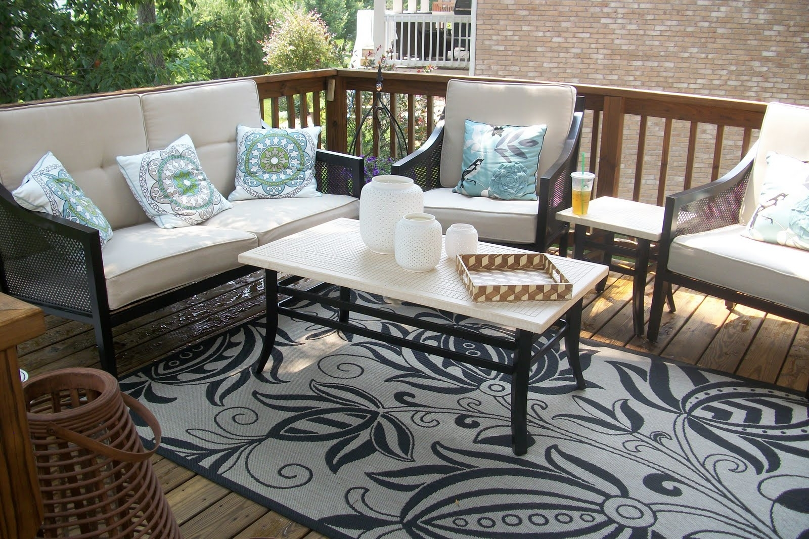 Target Patio Furniture Conversation Sets Within Fashionable Patio : Outdoor Patio Furniture Walmart Target Engaging Image (View 5 of 15)