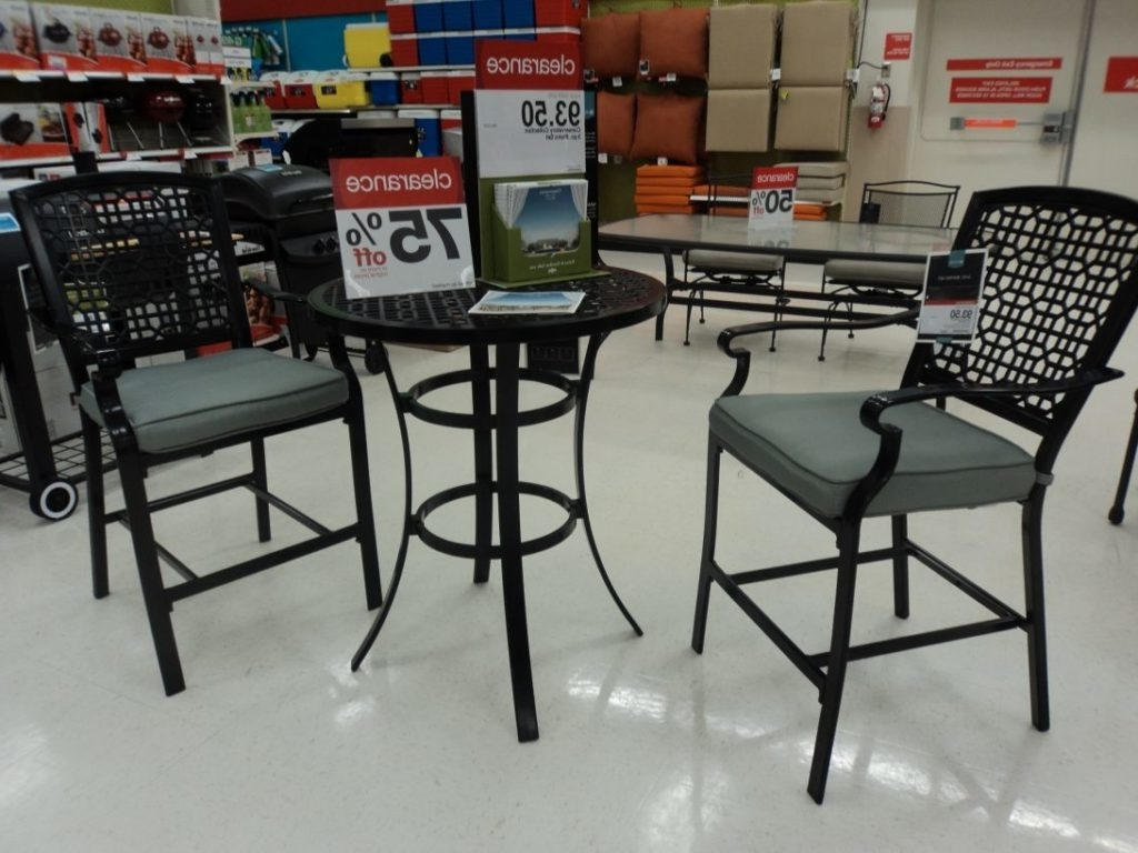 Target Small Patio Sets Clearance Space Outdoor On Bistro Patio Throughout Recent Patio Conversation Sets At Target (View 11 of 15)