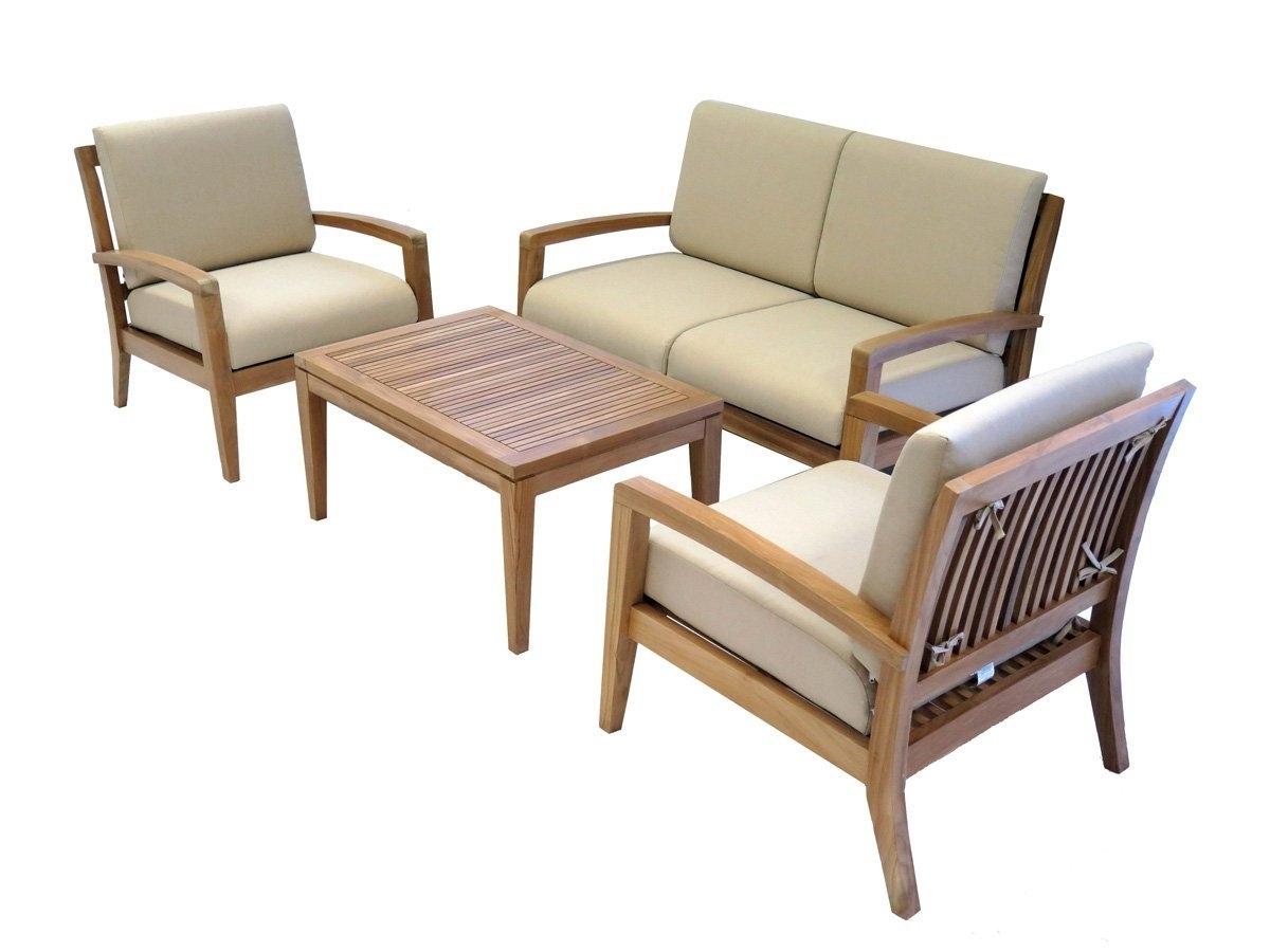 Teak Patio Conversation Sets Pertaining To Trendy Teak Archives – Best Patio Furniture Sets Online (View 9 of 15)