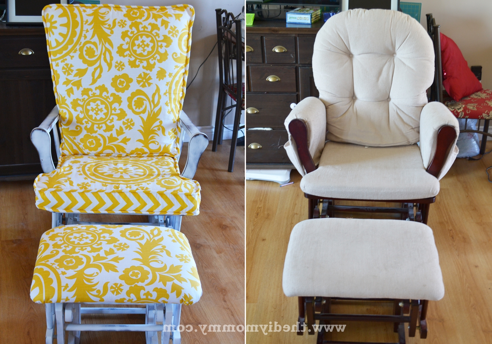 The Diy Mommy Throughout Upcycled Rocking Chairs (View 10 of 15)