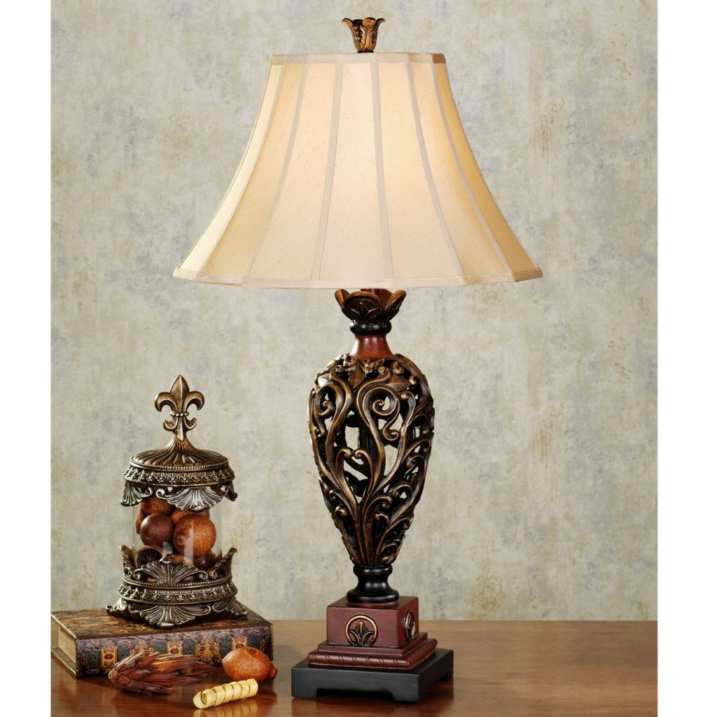 Traditional Table Lamps For Living Room For Most Up To Date Table Lamps For Living Room Traditional Home Design, Living Room (View 2 of 15)