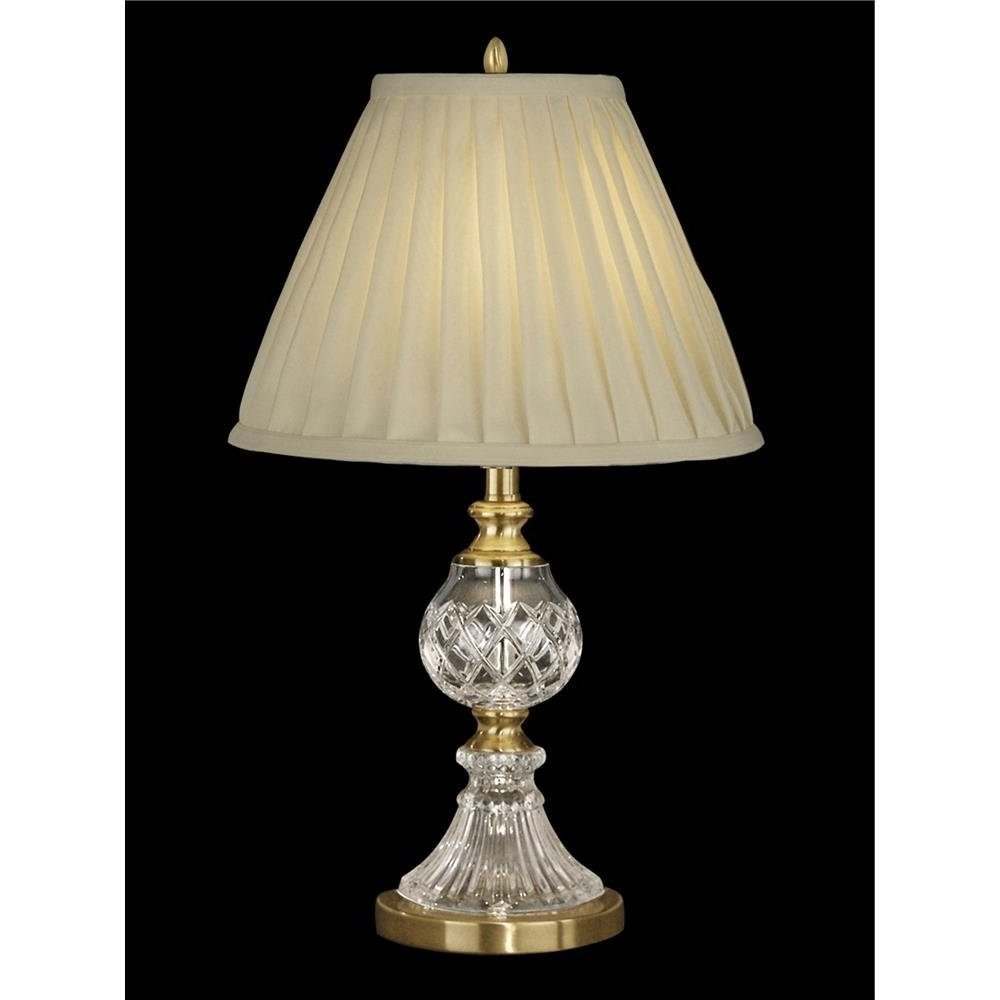 Trendy Crystal Living Room Table Lamps For Floor Lamps Brass Stiffel Living Room Table Traditional Of Kerala (View 15 of 15)