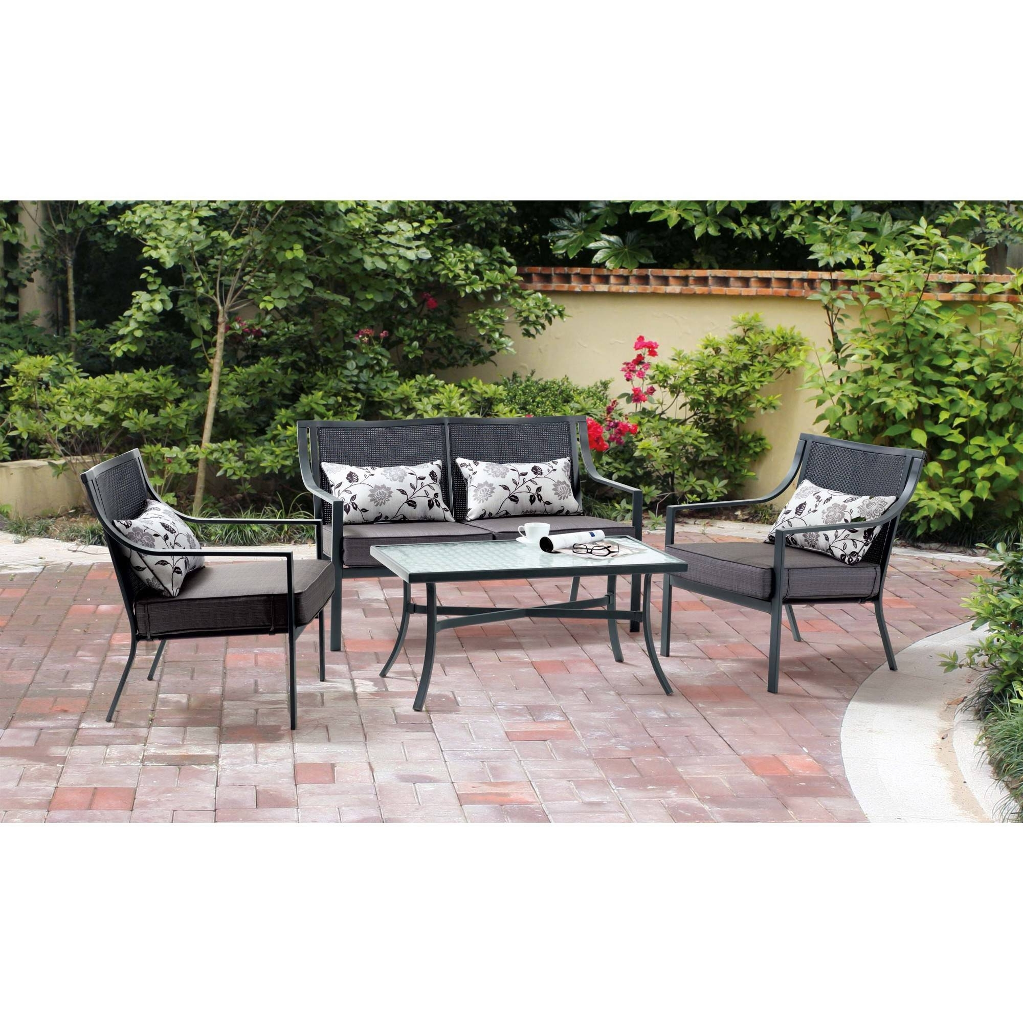 Trendy Patio Conversation Sets Without Cushions Within Patio Conversation Sets Without Cushions – Patio Ideas (View 14 of 15)