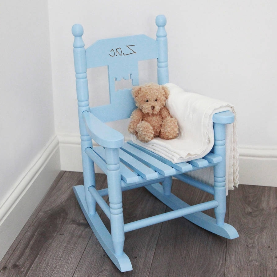Trendy Personalised Child's Rocking Chairmy 1St Years Throughout Rocking Chairs For Babies (View 15 of 15)