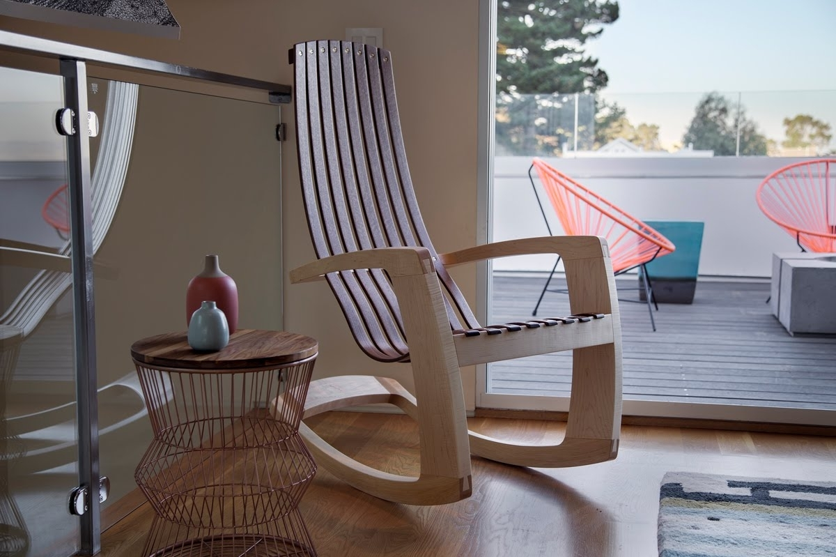 Trendy Rocking Chairs Adelaide Within Rocking Chair I Modern Rocking Chair Ioutdoor Rocking Chair – Youtube (View 14 of 15)