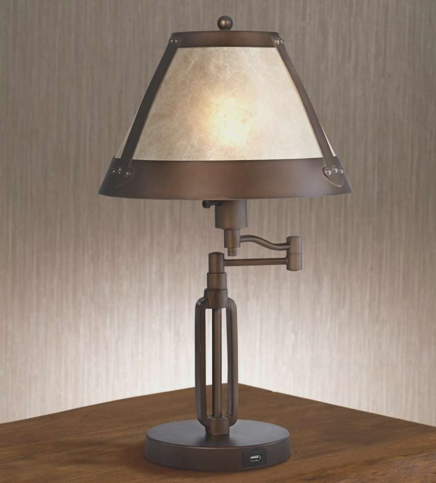 Featured Photo of Rustic Living Room Table Lamps