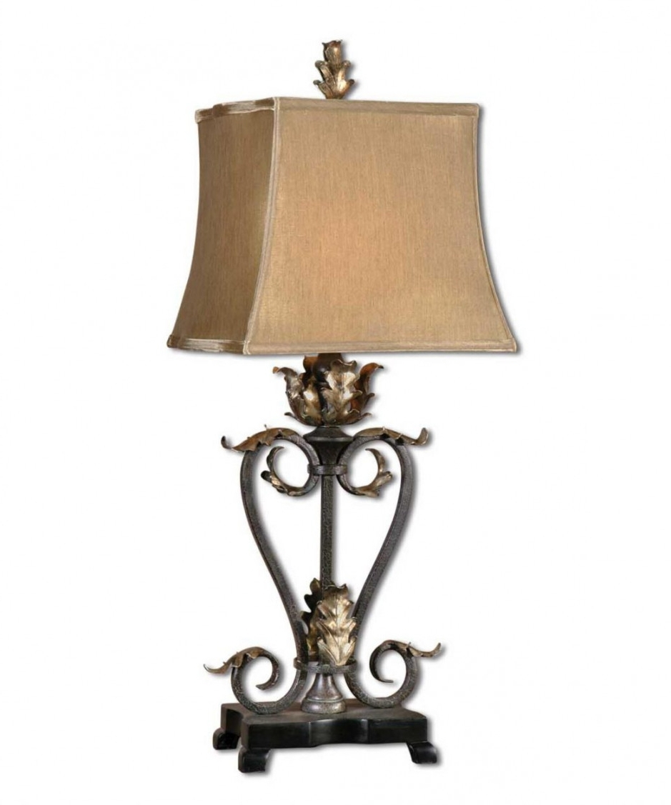 Tuscan Table Lamps For Living Room Inside Current Tuscan Table Lamps Living Room Style Ceramic Inspired Dar Lamp (View 3 of 15)