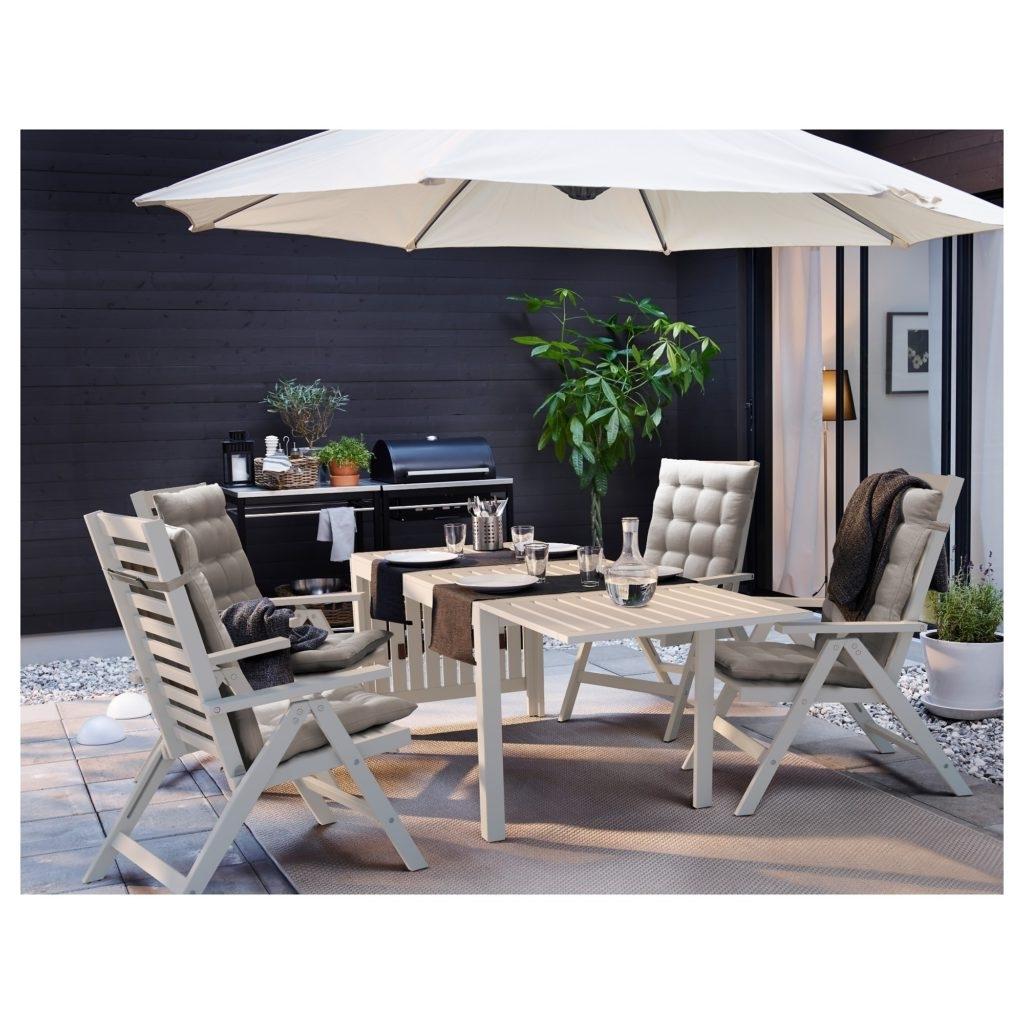 Umbrella Ikea Patio Furniture — Inkandcoda Home Blog : Creative Ikea In Current Ikea Patio Conversation Sets (View 15 of 15)
