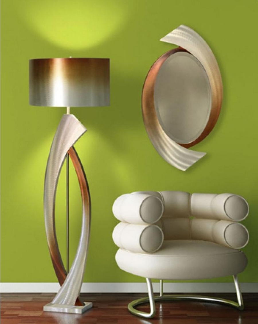 Unique Table Lamps Living Room within Most Recent Contemporary Floor Lamps For More Decorative Elements - Traba Homes