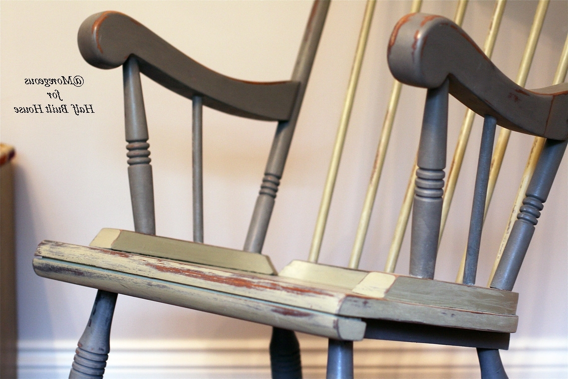 Upcycled Rocking Chairs In Well Liked Hbh Eastbourne: A Spot Of Child Friendly Designing & Upcycling With (View 14 of 15)